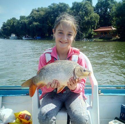 Gyermek horgász nagy élménye!
