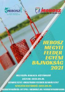HEBOSZ Megyei Feeder Egyéni Bajnokság